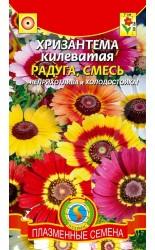 Хризантема (килеватая) Радуга, смесь 0.5г #Плазма